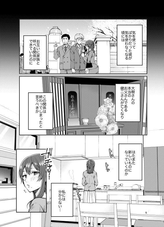 継母といっしょ-14 【エロ同人誌】義理の息子と寝るまで…実は処女でした!?