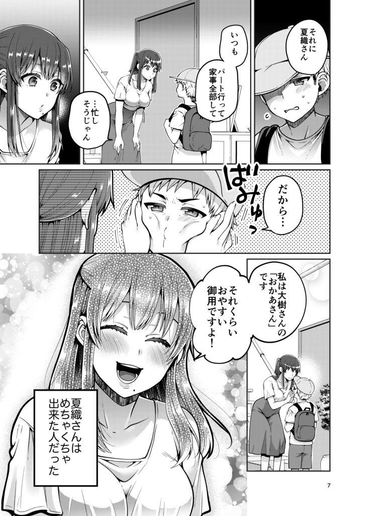 継母といっしょ-6 【エロ同人誌】義理の息子と寝るまで…実は処女でした!?